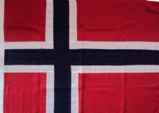 Norway Flag Norwegian Sewen